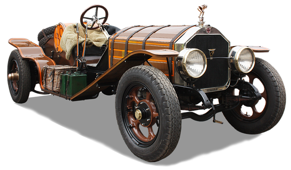 Oldtimer, Free And Edited, Isolated, Early 20, Century