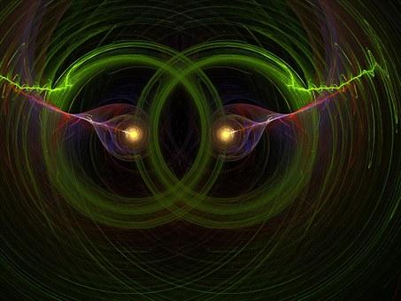 Flame, Fractal, Render, Light, 3d, Digital, Futuristic