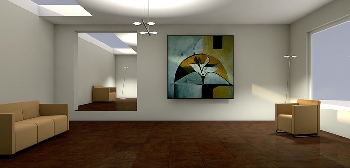 Sun, Lichtraum, Shadow, Gallery, Living Room, Apartment