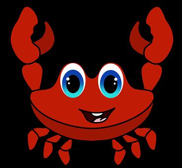 Sea, Drawing Crab, Red Crab, Nature, Crustacean, Crab