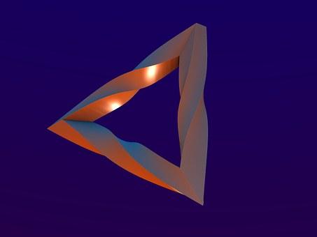 Triangle, Form, Shape, 3d, Design, Technology, Pattern