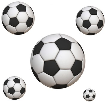 Soccer, Ball, Fun, White, Round, Background, Leather