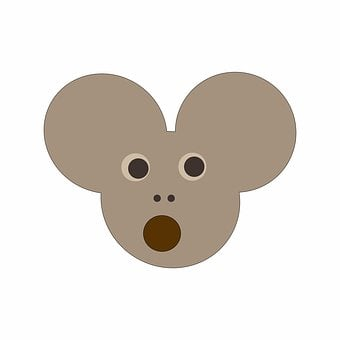 Mouse, Bewildered, Big Ears, Open Mouth, Amazed, Tinker