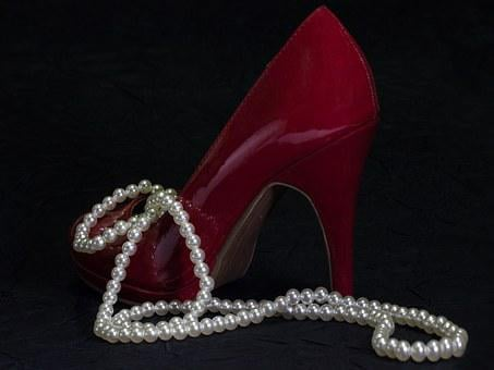 Beads, Pearl Necklace, Women's Shoes, Jewellery