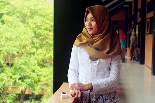Women, Hijab, Islam, Kebaya, Beauty, Gorgeous, Model