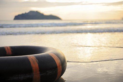 Grain Belt, Beach, Sunset, Life, Buoys, The Symbol