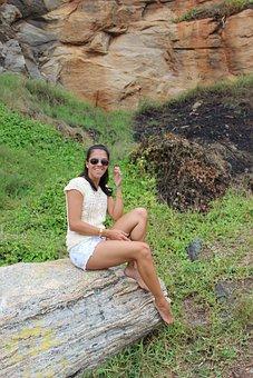 Beach, Woman, Girl, Summer, Búzios, Rio De Janeiro