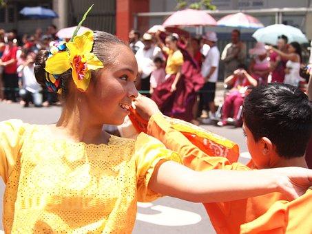 Dance, National Holidays, Children, Girls, Women