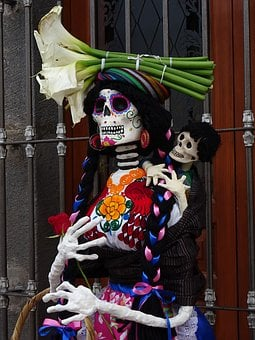 Mexico, Day Of The Dead, Tradition, Catrina, Crafts
