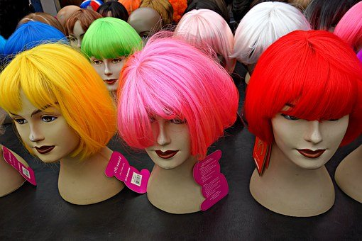Wig, Hair, Doll, Hairstyle, Fashion, Women, Beauty Hair