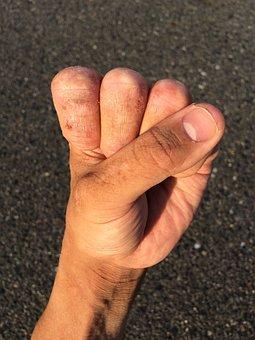 Hand, Finger, Nail, Wrist, Thumb, Young, Japanese