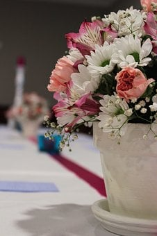 Occassion, Flowers, Wedding, White, Marriage, Love