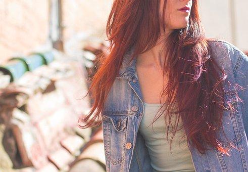 Girl, Hair, Redhead, Beauty, Women, Portrait, Smile