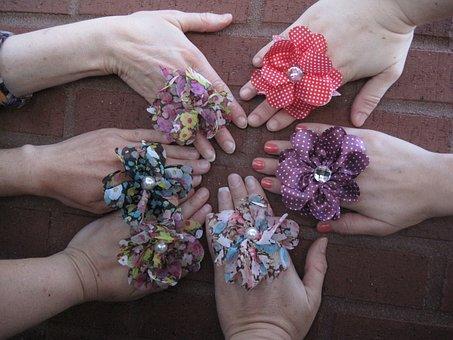 Hands, Female, Friends, Women, Hand In Hand, Woman