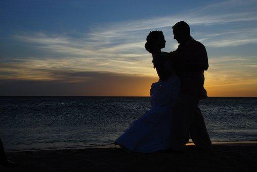 Couple, Wedding, Married, Marriage, Romantic