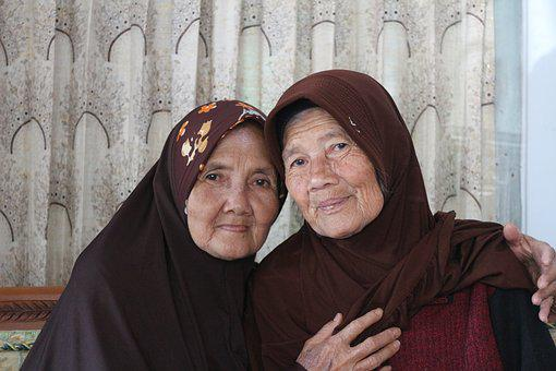 Grandmother, Mother, Old, Face, People, Portrait