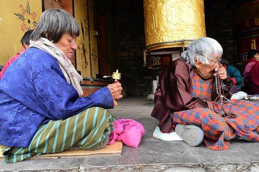 Old Women, Old Age, Religion, Senior, Elderly, People