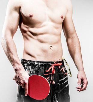 Table Tennis, Ping-pong, Ping Pong, Swimming Trunks