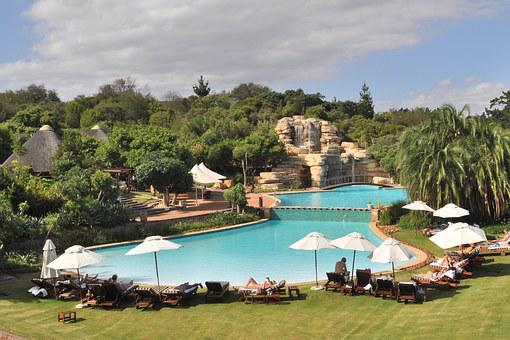 South Africa, Swimming Pool, Hotel, Summer, Relax