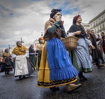 Folklore, Folk, Regional, Rural, Transhumance, People