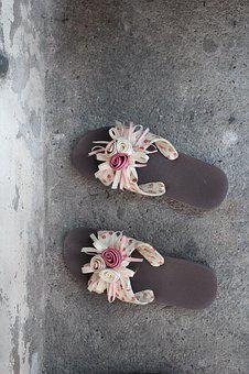 Slippers, Shoes, Flowers, Women's Shoes, Sandals