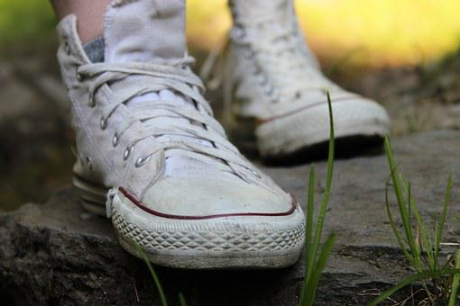 Boots, Shoe, Foot, Nature, Sneakers, Summer