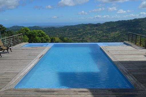 Pool, View, Swimming, Water, Blue, Summer, Leisure