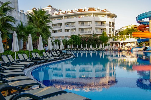 Holiday, Swimming Pool, Hotel, Summer, Bathing
