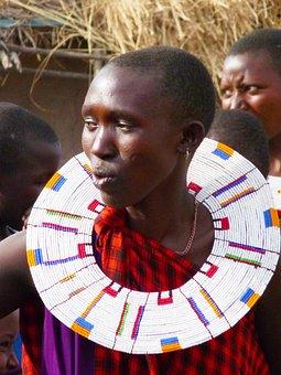 Masai, Tanzania, Africa, Women, Jewelry, African, Tribe