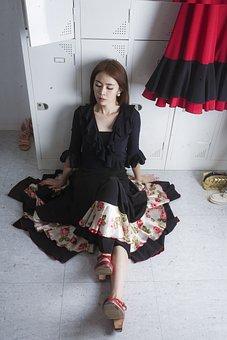 Flamenco, Theatre, Kim Sol, Designer, Women's, Weary