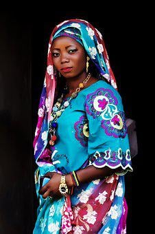 African Woman, Woman, Nigeria Woman, Black, Female