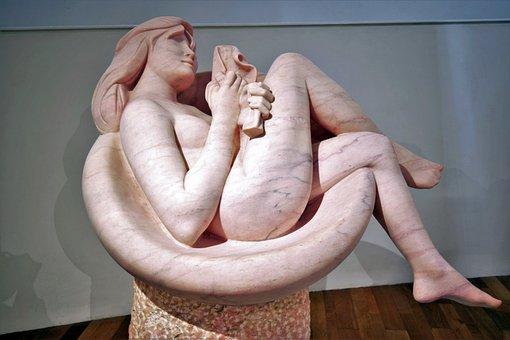 Art, Museum, Work, Sculpture, Beauty, Rosa, Women