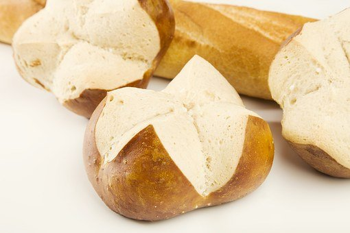 Bread, Roll, Food, Crispy, Bake, Delicious, Baked Goods