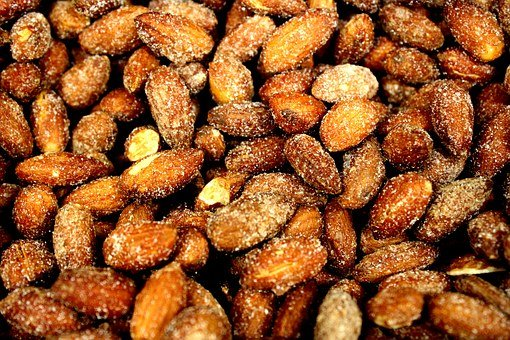 Almonds, Mix Fruit, Beans, Nuts, Green, Food, Nutrition