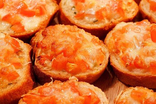 Bruschetta, Tomatoes, Frisch, Eat, Cheese, Mozzarella