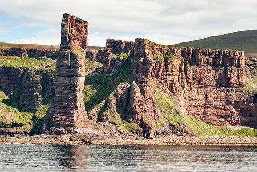 Orkney Island, Stromness, Coastline, Rock Formation