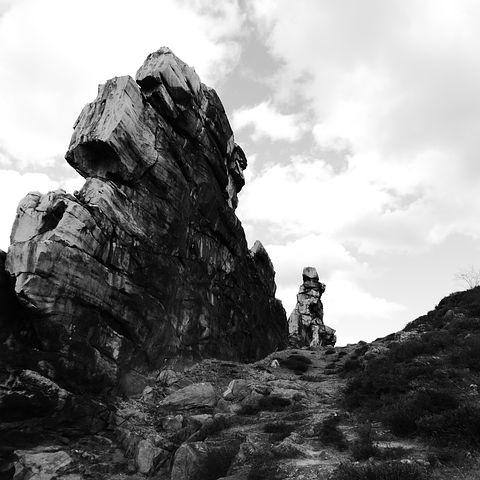 Devil's Wall, Resin, Nature, Rock, Stone, Landscape