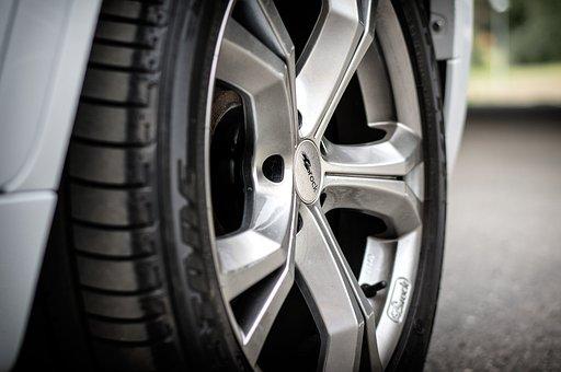 Wheels, Rims, Tire, Vehicle, Equipment, Automotive