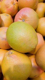 Citrus, Grapefruit, Fruit