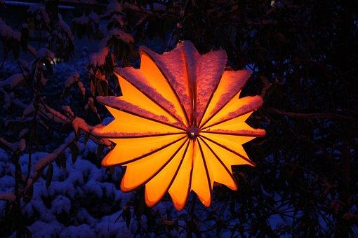 Lampion, Weatherproof, Robust, Snow, Lighting, Garden