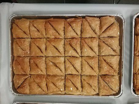 Baklava, Baklawa, Greek Walnut Pastry