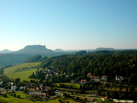 Health Resort Of Rathen, Saxon Switzerland