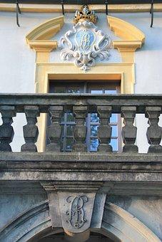 Königstein, Balcony, Railing, Stone Railing, History