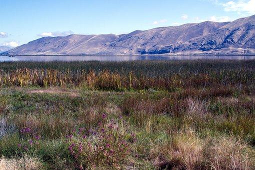 Baer Lake, Idaho, Utah, Usa, America, Landscape