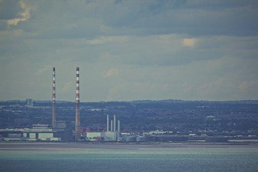 Industry, Chimneys, Grunge, Industrial, Factory