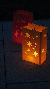 Lampion, Light, Hell, Lighting, Star, Lantern