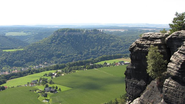 Saxon Switzerland, Lily Stone, Sandstone Mountain