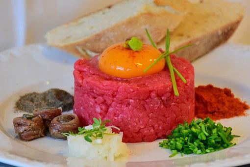 Tatar, Beef, Minced Meat, Meat, Starter, Minced ' Meat