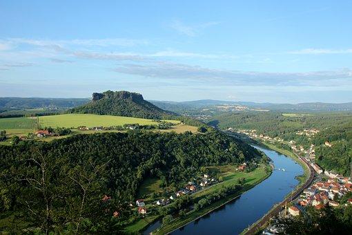 Lily Stone, Saxon Switzerland, Saxony, Landscape
