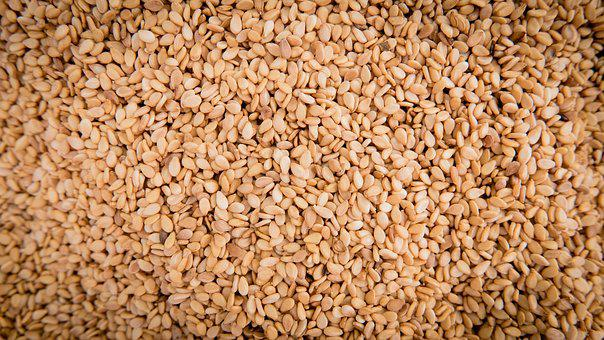 Sesame, Seeds, Sesame Seeds, Sesamum Indicum